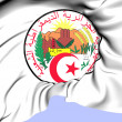 Algeria Coat of Arms — Stock Photo