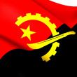 Flag of Angola — Stock Photo #39912079