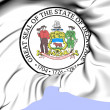 Stock Photo: State Seal of Delaware, USA.