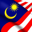 Flag of Malaysia — Stock Photo #39912229