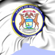 Governor of MichigSeal, USA. — Stock Photo #39912265