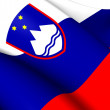 Stock Photo: Flag of Slovenia