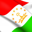Flag of Tajikistan — Stock Photo #39912379