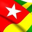 Flag of Togo — Stock Photo #39912399