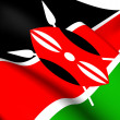 Flag of Kenya — Stock Photo #39965269