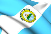 Flag of Federal Republic of Central America — Stock Photo