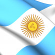 Flag of Argentina — Stock Photo #40009257