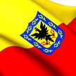 Flag of Bogota, Colombia. — Stock Photo #40009275