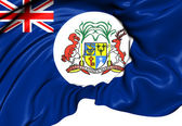 British Mauritius Colonial Flag (1906-1923) — Stock Photo