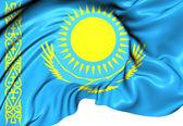 Flag of Kazakhstan — Stock Photo