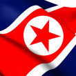 Flag of North Korea — Stock Photo #40554379
