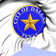 Stock Photo: Seal of Dallas, USA.