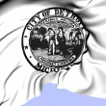 Seal of Detroit, USA. — Stock Photo