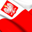 Flag of Poland — Stock Photo #40554427