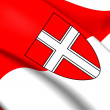 Flag of Vienna — Stock Photo #40554503