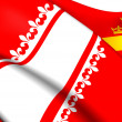 Flag of Alsace (old), France. — Stock Photo #40939415