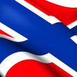Flag of Norway — Stock Photo #40939559