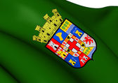 Flag of Almeria Province, Spain. — Stock Photo