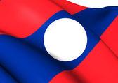 Bandera de laos — Foto de Stock