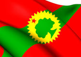 Flag of Oromo Liberation Front — Stock Photo