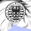 Stock Photo: Seal of Gemeinde Alpen, Germany.