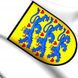 Denmark Coat of Arms — Stock Photo #41446469