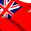 Stock Photo: Isle of MCivil Ensign