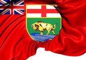 Flag of Manitoba, Canada.  — Stock Photo
