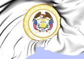 State Seal of Utah (Alternate), USA. — Stock Photo