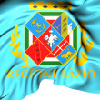Stock Photo: Flag of Lazio, Italy.