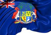 Flag of British Mauritius — Stock Photo