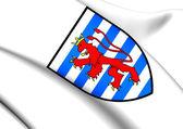Luxemburg Coat of Arms — Stock Photo