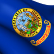 Flag of Idaho, USA. — Stock Photo