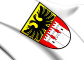 Duisburg Coat of Arms, Germany.  — Stock Photo