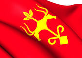 Bandera de maikop, rusia. — Foto de Stock