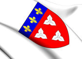 Orleans Coat of Arms, France. — Stockfoto