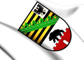 Saxony-Anhalt Coat of Arms, Germany. — Stock Photo