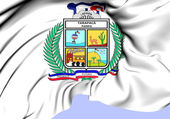 Flag of Tarapaca Region, Chile.  — Stockfoto