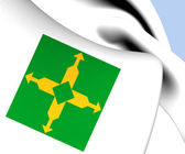 Flag of Federal District, Brazil. — Stock Photo