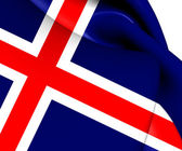 Flag of Iceland — Stock Photo