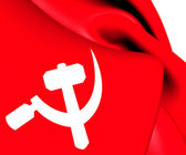 South Asian Communist Flag — Stock Photo