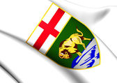 Manitoba Coat of Arms, Canada.  — Stock Photo
