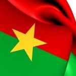 Flag of Burkina Faso — Stock Photo #43791547