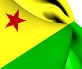 Flag of Acre, Brazil.  — Stock Photo