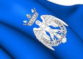 Flag of Maria, Spain.  — Stock Photo