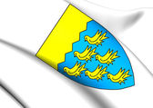 West Sussex Coat of Arms, England.  — Stock Photo