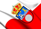 Flag of Cantabria, Spain.  — Stock Photo