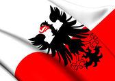 Flag of Deventer, Netherlands.  — Stock Photo