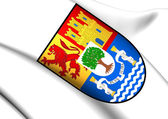 Extremadura Coat of Arms, Spain. — Stock Photo