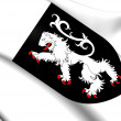 Aosta Valley Coat of Arms, Italy. — Stock Photo #44882771